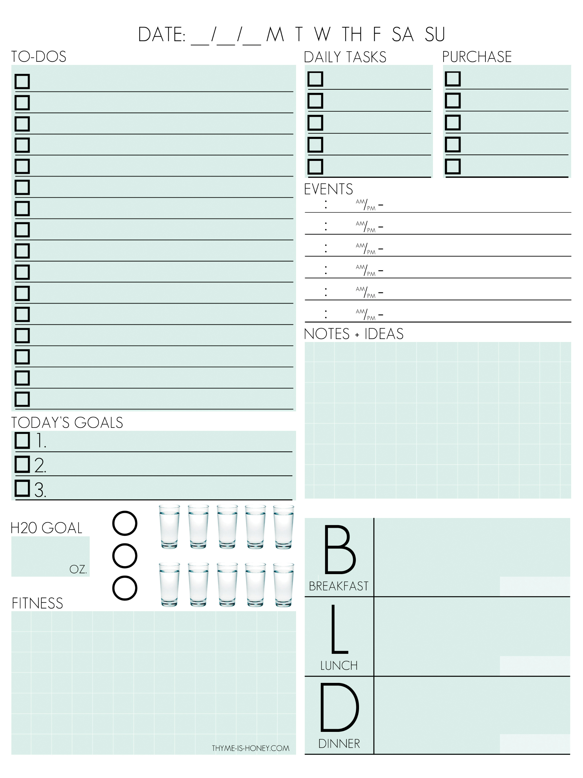 Download Template As Image ... Regarding Daily Diary Template